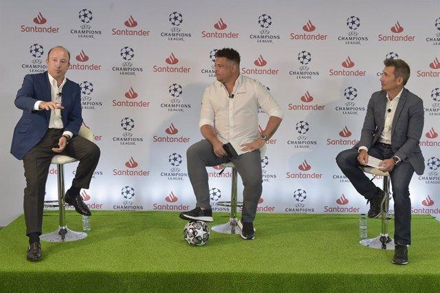 """Fútbol.- Banco Santander recalca que la Champions es """"la excelencia"""" y celebra l"""