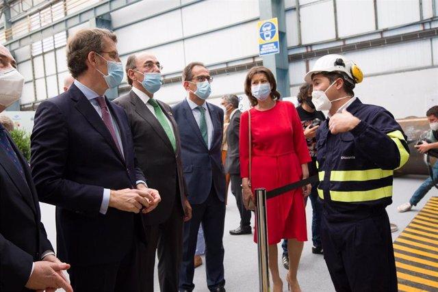 Fotos Xunta. Presidente/ Sinatura Navantia