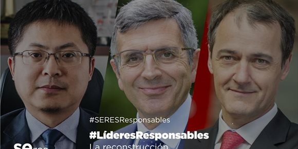 3. Personas y tecnología, claves para superar la crisis para Juan Ignacio de Elizalde (Coca-Cola) y Tony Jin Yong (Huawei)