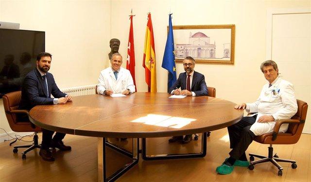 El Hospital Ruber Internacional acuerda con Elekta formar a profesionales de fuera de España