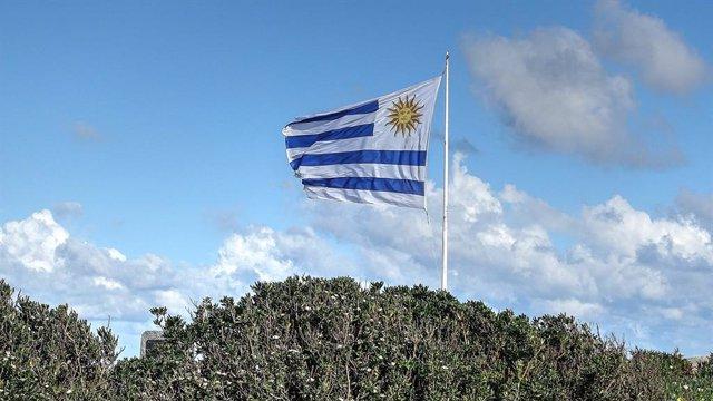 Bandera de Uruguay.