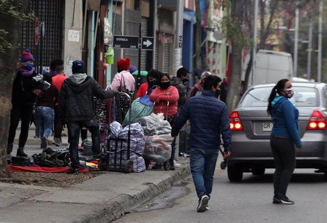 Coronavirus.- El Gobierno de Chile, preocupado por la movilidad en Santiago ante
