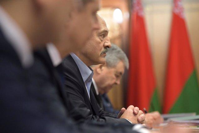 El presidente bielorruso, Alexander Lukashenko.