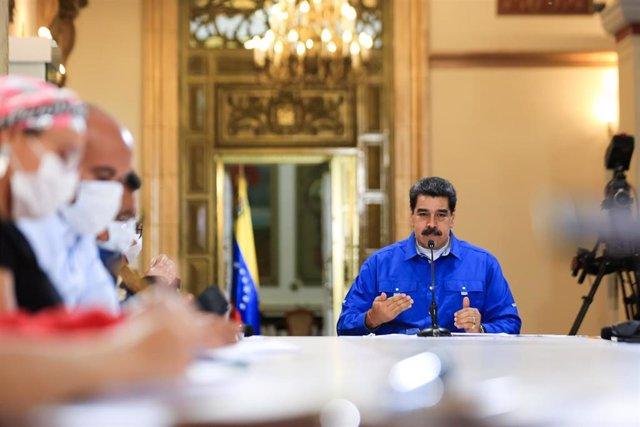Imagen de archivo de Nicolás Maduro.