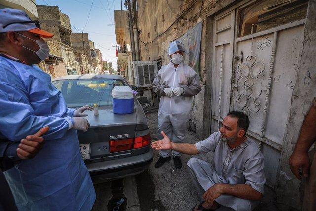 Coronavirus.- Irak registra su mayor número de fallecidos diarios por la COVID-1