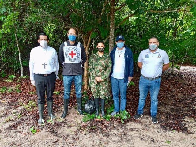 Colombia.- El Ejército colombiano libera a un suizo y un brasileño secuestrados