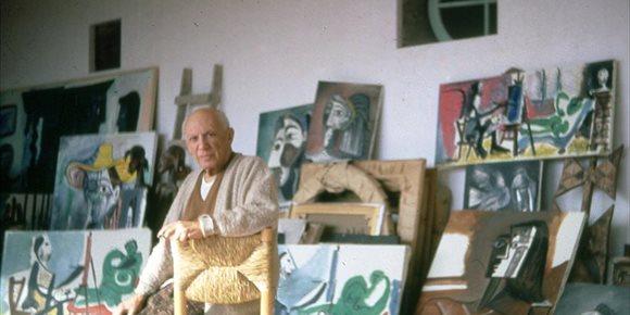 6. El MPM expone más de 60 imágenes que muestran la vida cotidiana de Pablo Picasso