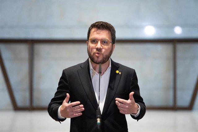El vicepresidente del Govern y conseller de Economía, Pere Aragons