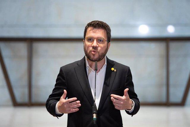 El vicepresident del Govern i conseller d'Economia, Pere Aragonès