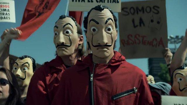 Imagen de la temporada 4 de La casa de papel