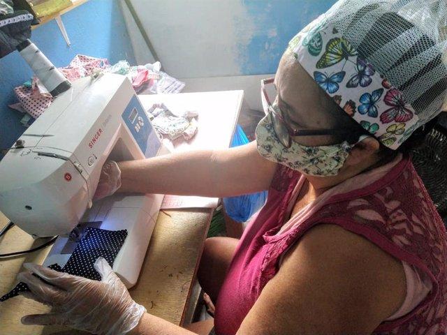 Coronavirus.- Fontilles distribuye mascarillas en la amazonía brasileña