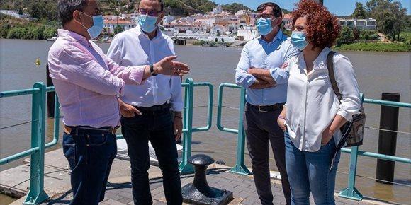 2. Caraballo subraya el apoyo de la Diputación de Huelva a los ayuntamientos en la reconstrucción post-Covid