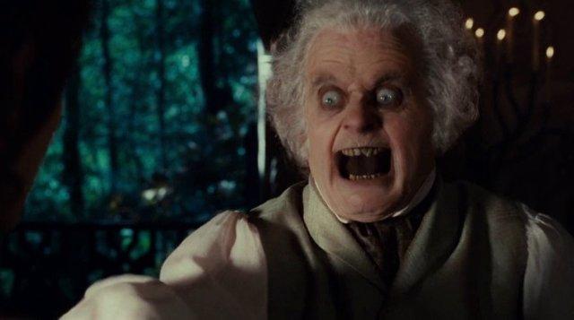 Bilbo Bolsón en El señor de los anillos