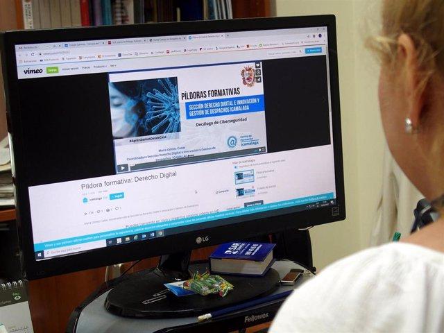 Formación virtual organizada por el Colegio de Abogados de Málaga