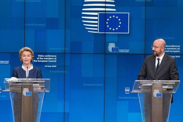 AMP.- Cumbre UE.- Los líderes de la UE se citan en julio tras constatar sus dife