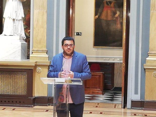 El senador Vicenç Vidal, de MÉS per Mallorca