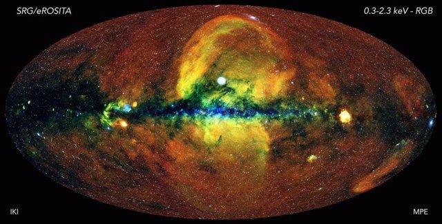El universo energético, a vista del telescopio eROSITA