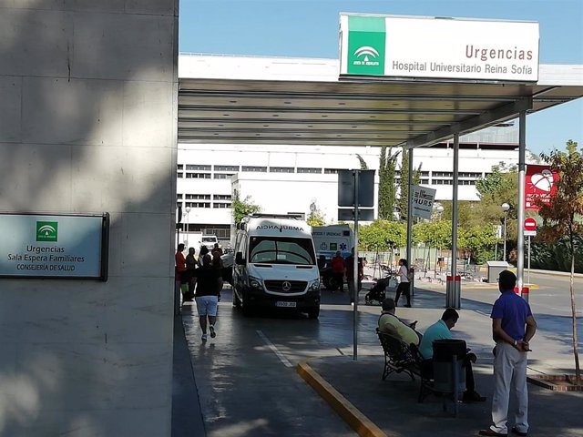 Urgencias del Hospital Universitario Reina Sofia de Córdoba en una imagen de archivo.
