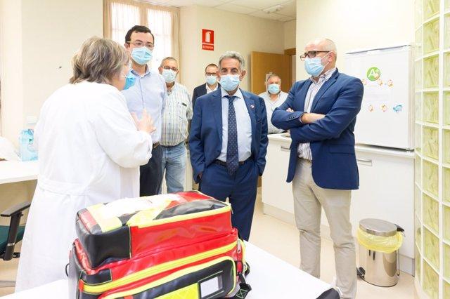 Revilla anuncia el premio Beato a los profesionales sanitarios