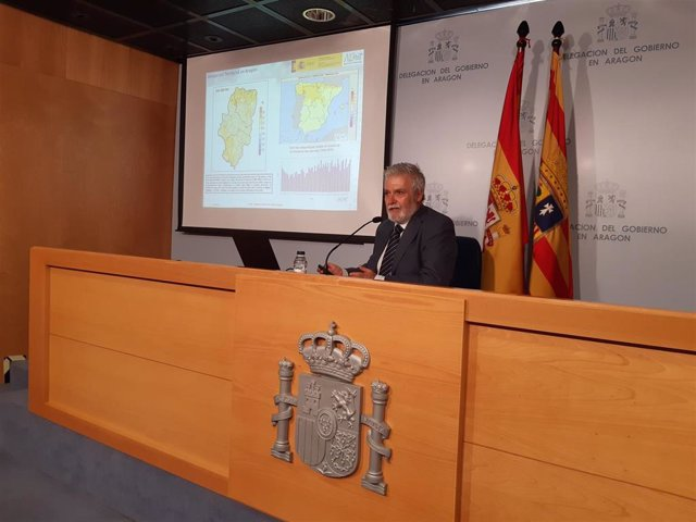 El delegado de la Agencia Estatal de Meteorología en Aragón, Rafael Requena
