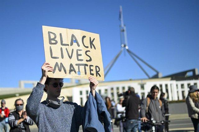Protesta contra la muerte de George Floyd