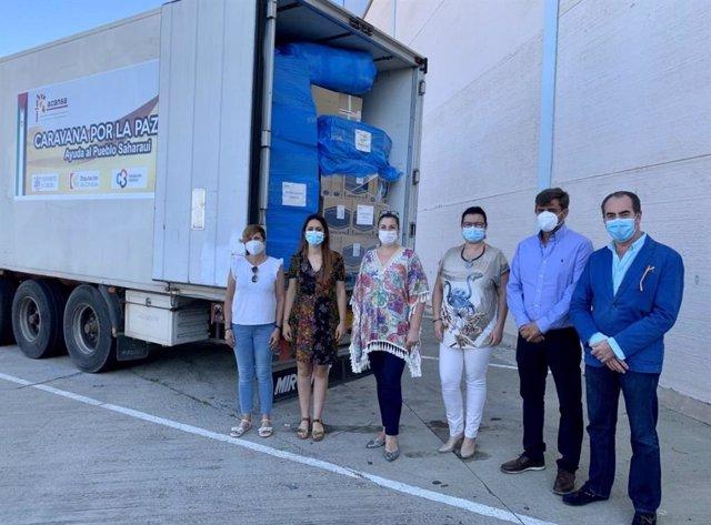 Córdoba.- Coronavirus.- La 'Caravana por la Paz' parte con 20 toneladas de alime