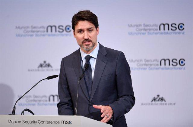 Justrin Trudeau, primer ministro canadiense.