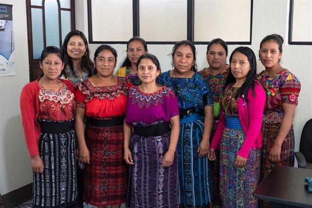 Mujeres que luchan contra el matrimonio infantil en Guatemala