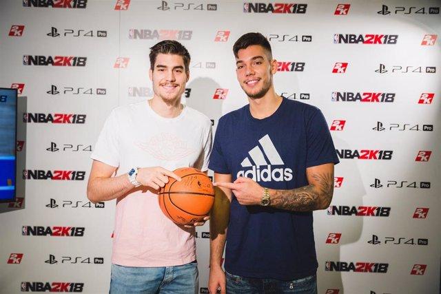 Juancho y Willy Hernangómez, imagen del NBA2K18