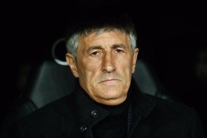 """Setién: """"Creo que el Real Madrid tampoco va a ganarlo todo"""""""