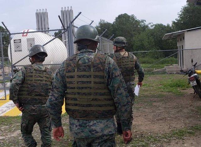 Militares de Ecuador.