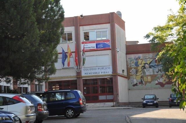 Imagen de recurso del colegio Menéndez Pidal, en la localidad de Coslada.