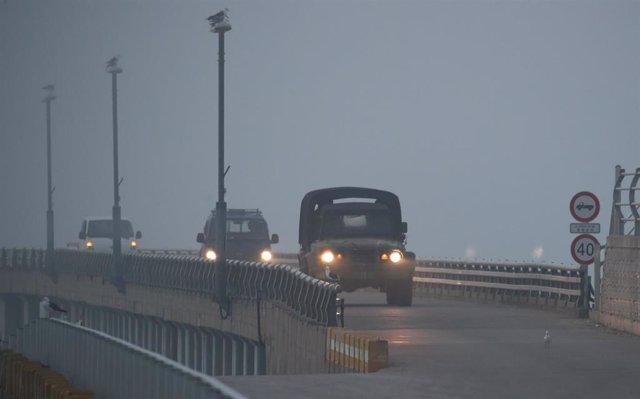 Despliegue surcoreano en la frontera con Corea del Norte