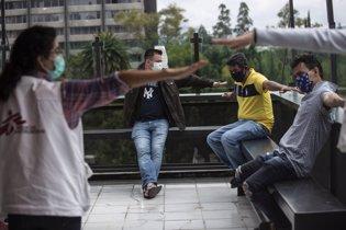 Trabajo de MSF con migrantes y refugiados en Méxic