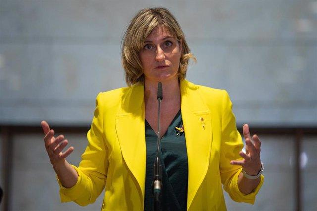 La consellera de Salud, Alba Vergés