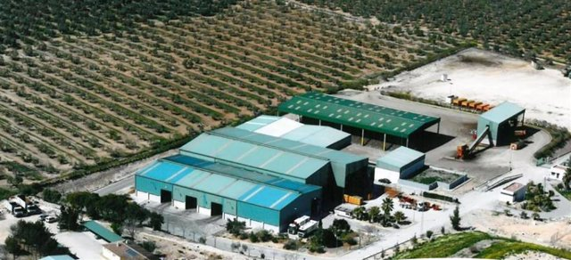 Imagen de la planta del Consorcio de Medio Ambiente Estepa- Sierra Sur
