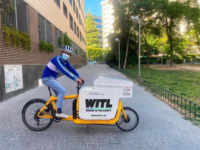 El exciclista Miguel Silvestre repartirá 2.500 kilos de fruta y verduras en comedores sociales tras ganar beca WITL by Andbank contra la COVID-19