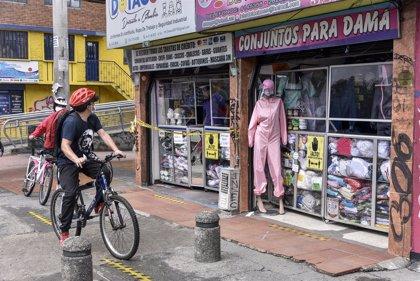 Coronavirus.- Colombia cierra con numerosas aglomeraciones su primer día sin IVA para la reactivación económica