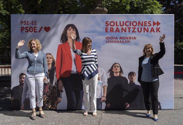 """Mendia subraya la capacidad del PSE para lograr acuerdos """"entre diferentes""""."""