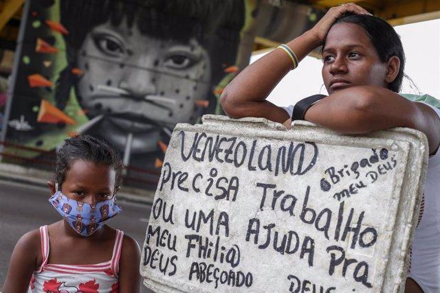 Coronavirus.- El 60 por ciento de los venezolanos que regresan al país desde Bra