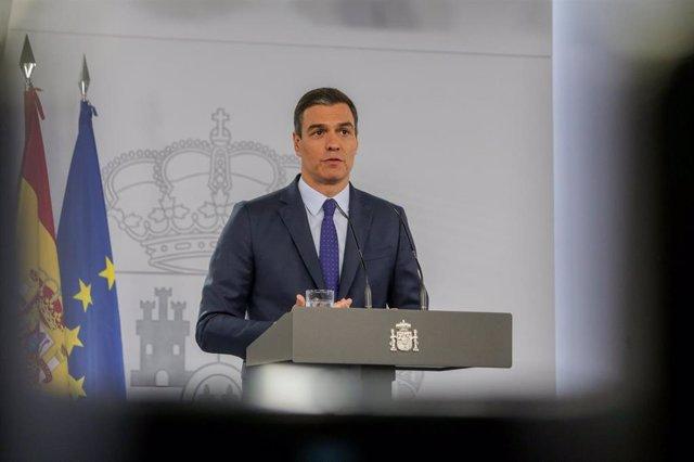 Foto de archivo del presidente del Gobierno, Pedro Sánchez, a 14 de junio de 202