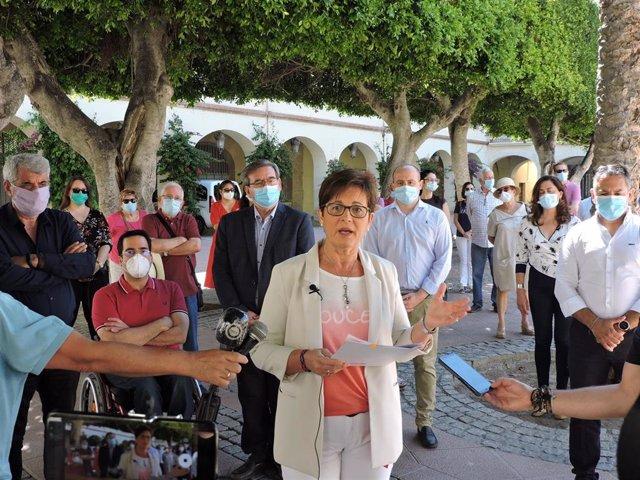 La portavoz del PSOE en el Ayuntamiento de Almería, Adriana Valverde
