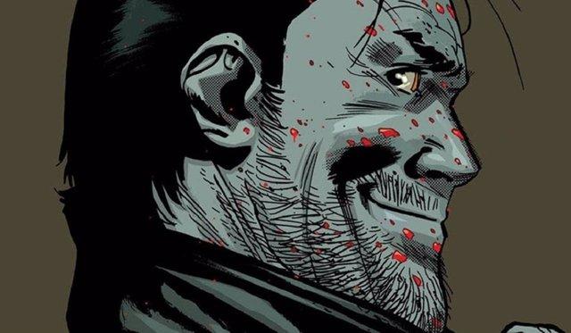 Negan en el último cómic de The Walking Dead