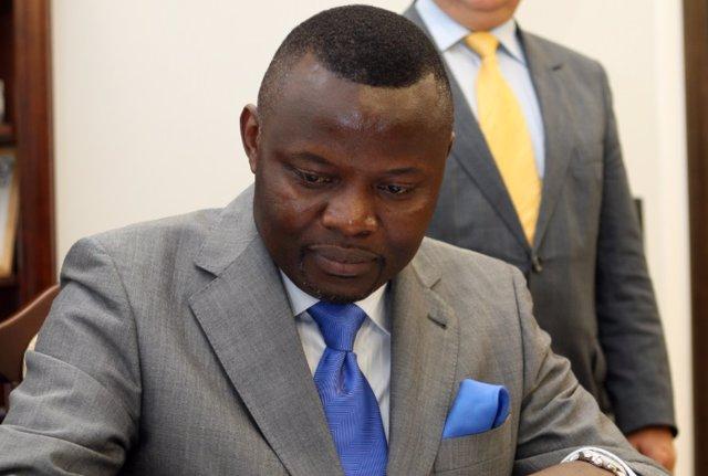 El exjefe de gabinete de la Presidencia congoleña, Vital Kamerhe