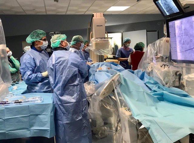 Cirugía en el Hospital Torrecárdenas