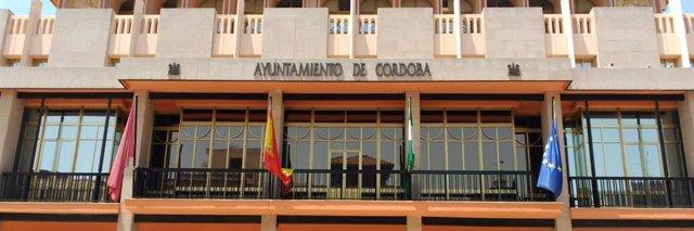Fachada del Ayuntamiento de Córdoba.