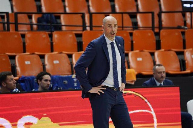 Joan Peñarroya, entrenador del San Pablo Burgos