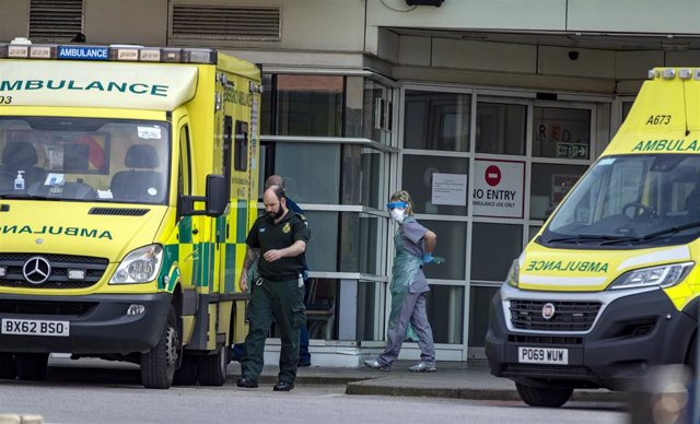 Ambulancias en Reino Unido