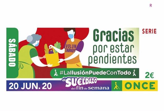 [Gruposociedad] Nota. La Once Recupera Mañana El Sorteo Del Cupón Y Sus 19.000 Vendedores Y Vendedoras A Pie De Calle