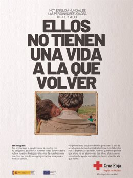 Imagen de la campaña de Cruz Roja